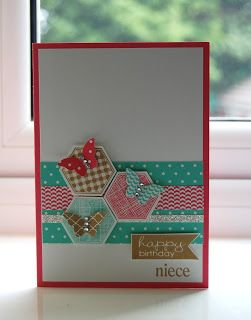 Julie's Japes - A Top Independent Stampin' Up! Demonstrator in the UK: Six Sided Sampler and a Competition!