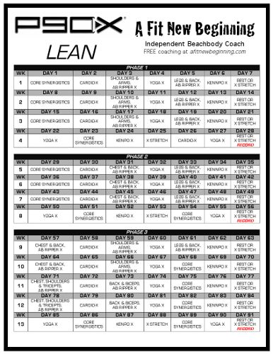 picture regarding P90x Workout Schedule Printable known as Correct P90x Applications Estimates of the Working day