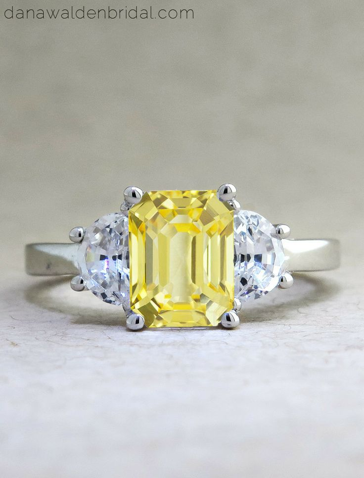 17 best images about yellow sapphire engagement rings. Black Bedroom Furniture Sets. Home Design Ideas