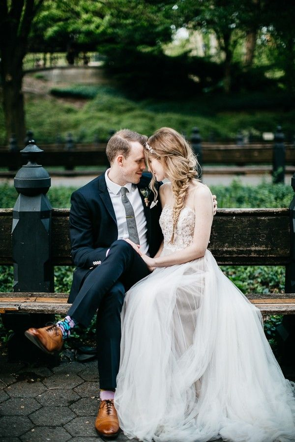 From the Brooklyn Bridge to Central Park This NYC Elopement Took Our Breath Away