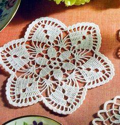 CROCHE COM RECEITA: Toalhinhas em croche super delicadas