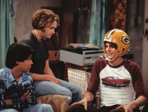 Fez, Kelso, and Hyde | that 70's show #packers