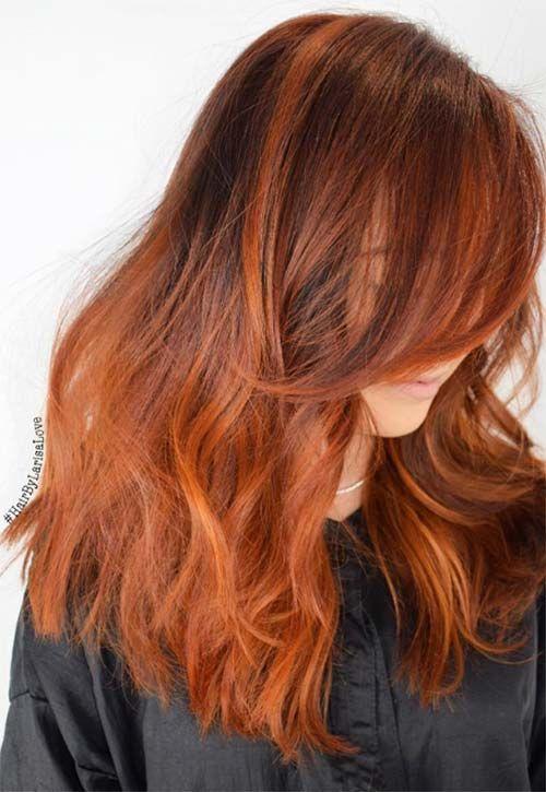 Copper Hair Color Ideas