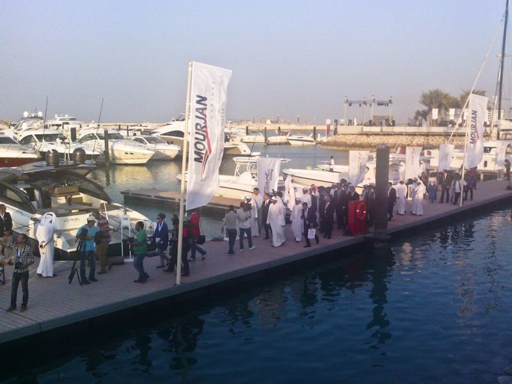 Opening cerimony of QIBS 2014 in Lusail marina