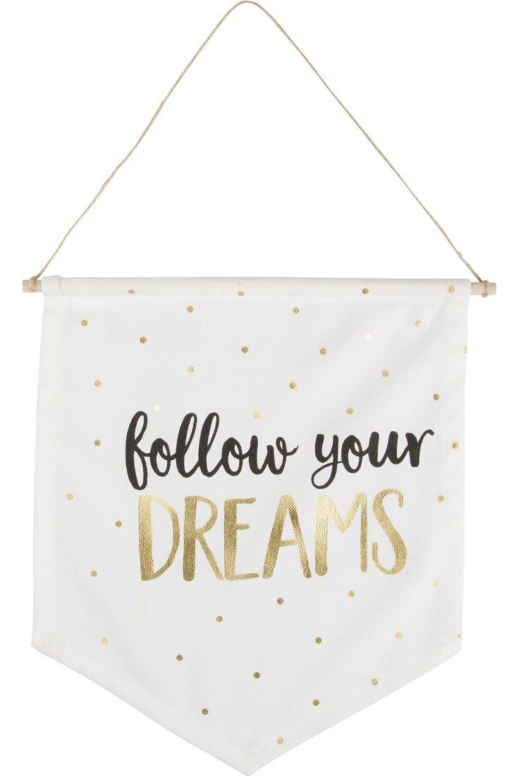 Follow Your Dreams Flag | BHS
