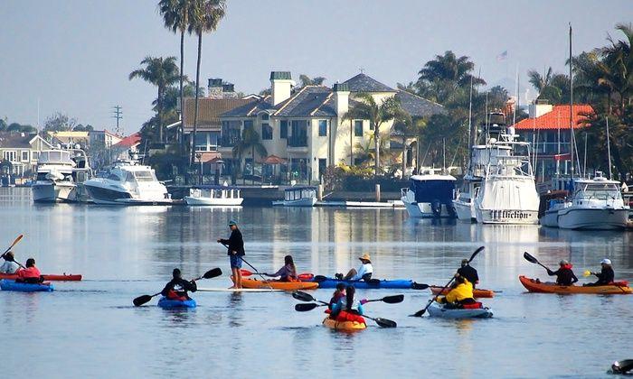 Kayak or Paddleboard Rentals - OEX Sunset Beach | Groupon