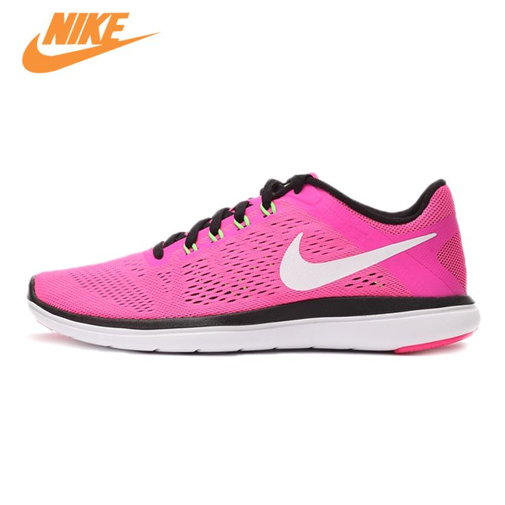 Original NIKE Summer Breathable Flex RN Women's Running Shoes Sneakers Trainers