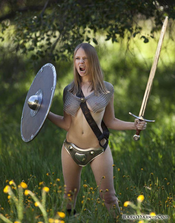 Naked Female Warrior Porn 83