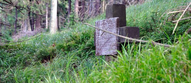 zapomniany krzyż na Wielkiej Sowie