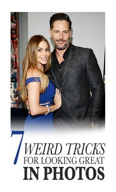 7 Weird Tricks for Looking Great in Photos: There's a reason why celebrities like Sofia Vergara and Joe Manganiello look amazing in photos. Yes, they're genetically blessed, but they also know some posing tricks that make any picture super flattering. You know who else knows them? The mastermind behind all of Allure's celebrity cover shoots, our creative director Paul Cavaco. We asked him to spill his his secrets and tips, so you, too, can look fantastic in pictures. | allure.com