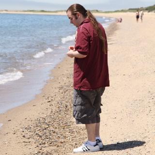 Corey at herring cove beach