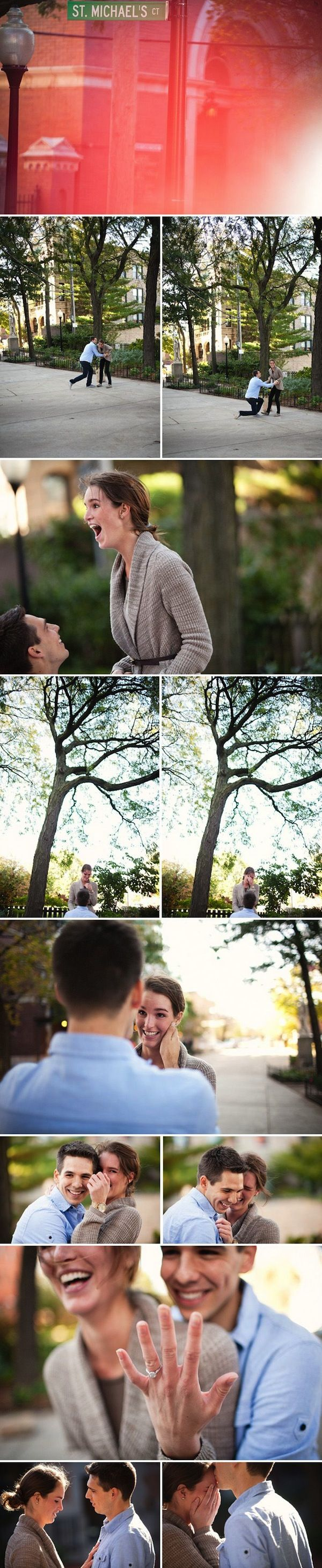 2nd to bottom picture!! 24 adorable surprise proposals that will melt your heart! - Wedding Party