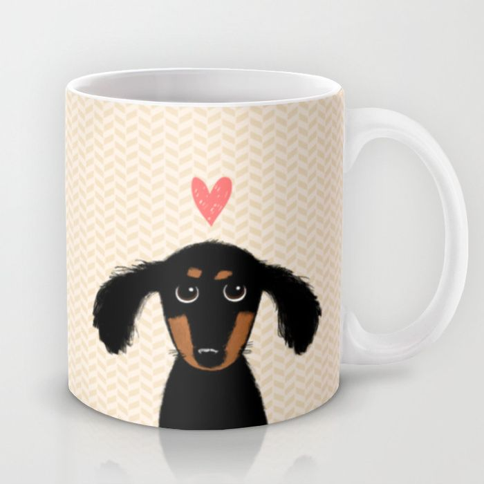 Dachshund Love Coffee Mug on Society 6