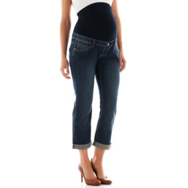 Tala Maternity Boyfriend Jeans  found at @JCPenney