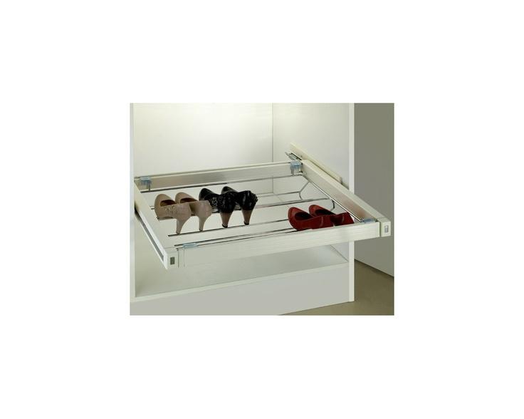 soft close shoe rack in antique white size 564x477x170 wilson u0026 bradley
