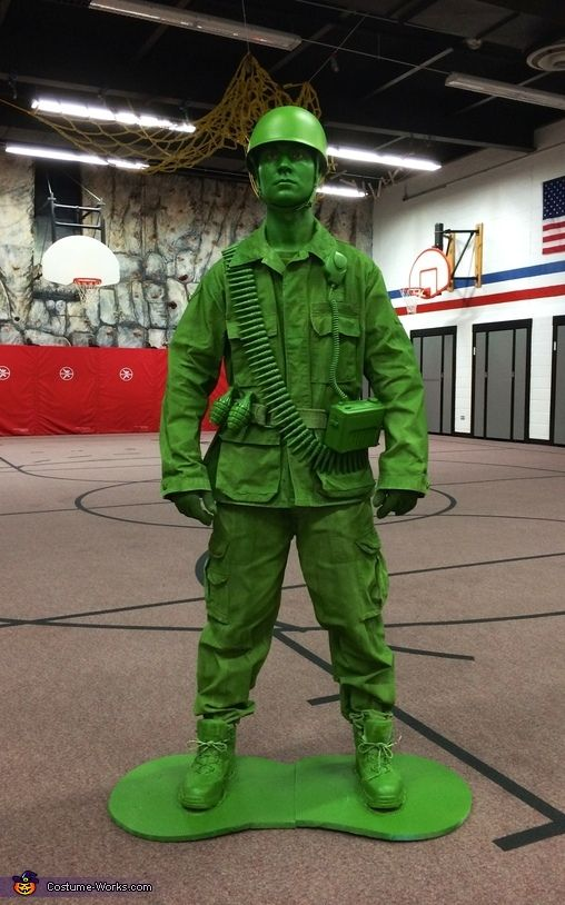 Plastic Toy Soldier Comes to Life! - Halloween Costume Contest