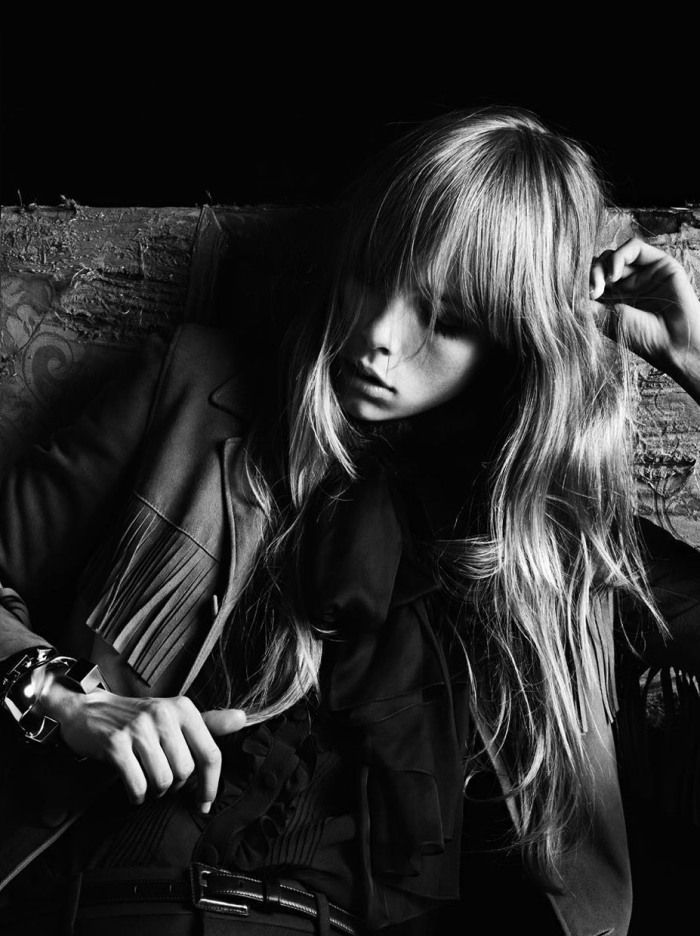 Campaign | Edie Campbell And Beck By Hedi Slimane For Saint Laurent Paris | Spring 2013 | The Libertine