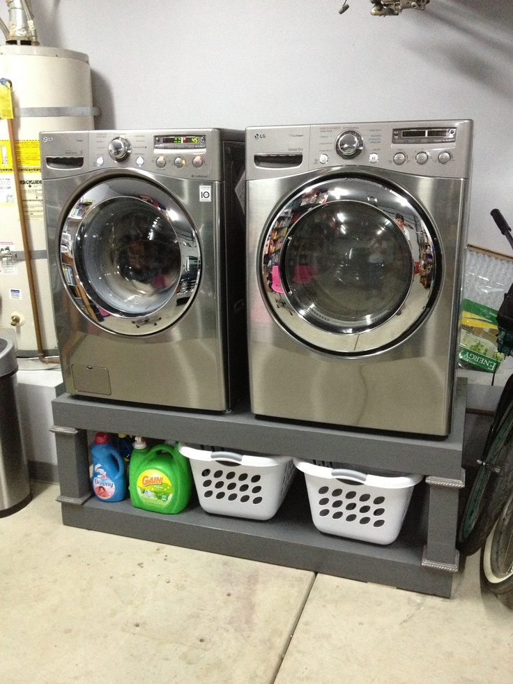 Washer And Dryer Pedestal Build It Pinterest Do More