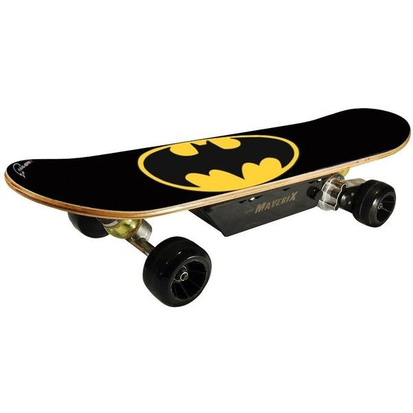 Maverix USA California Batman 150W Skateboard, Black, 31-Inch |... ($330) ❤ liked on Polyvore featuring batman and other