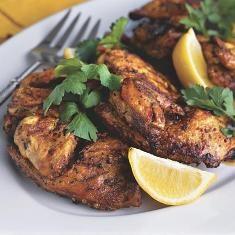 Brick-grilled Cornish Hens (via www.foodily.com/r/48MAI5misn-brick-grilled-cornish-hens)