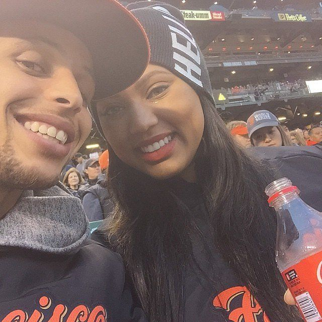 Cute Pictures of Stephen Curry and His Wife, Ayesha | POPSUGAR Celebrity Photo 20
