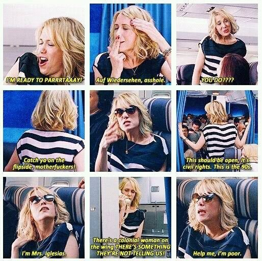 I could watch the Bridesmaids airplane scene over and over