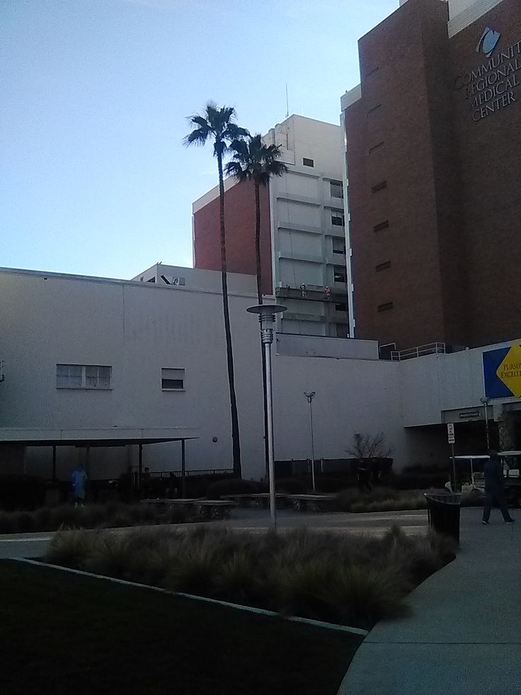Suspended scaffold at Fresno Community Hospital