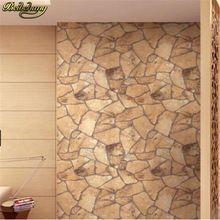 Beibehang tijolo papel de parede 3d home decor natural clássico parede de pedra papel de parede rolo TV fundo papel de parede pvc decoração de casa papel(China (Mainland))