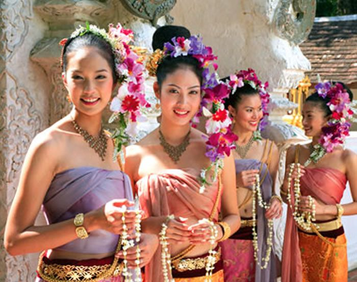 Northern of Thailand costume...So beautiful