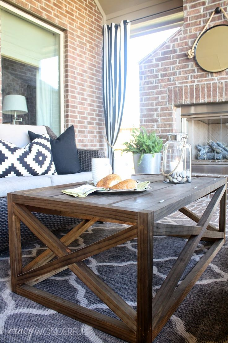 Modern outdoor chair diy build youtube - This Diy Coffee Table Combines A Simple Design With Rustic Wood To Create A Furniture Piece That Would Be Great For Adding Warmth To Your Modern Decor And
