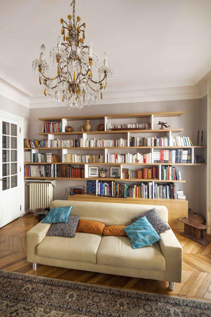 1000 id es sur le th me bibliotheque sur mesure sur. Black Bedroom Furniture Sets. Home Design Ideas