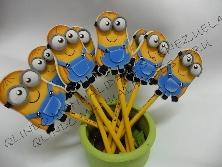 Lapiceros de Minions, ¡el detalle perfecto para una fiesta infantil!