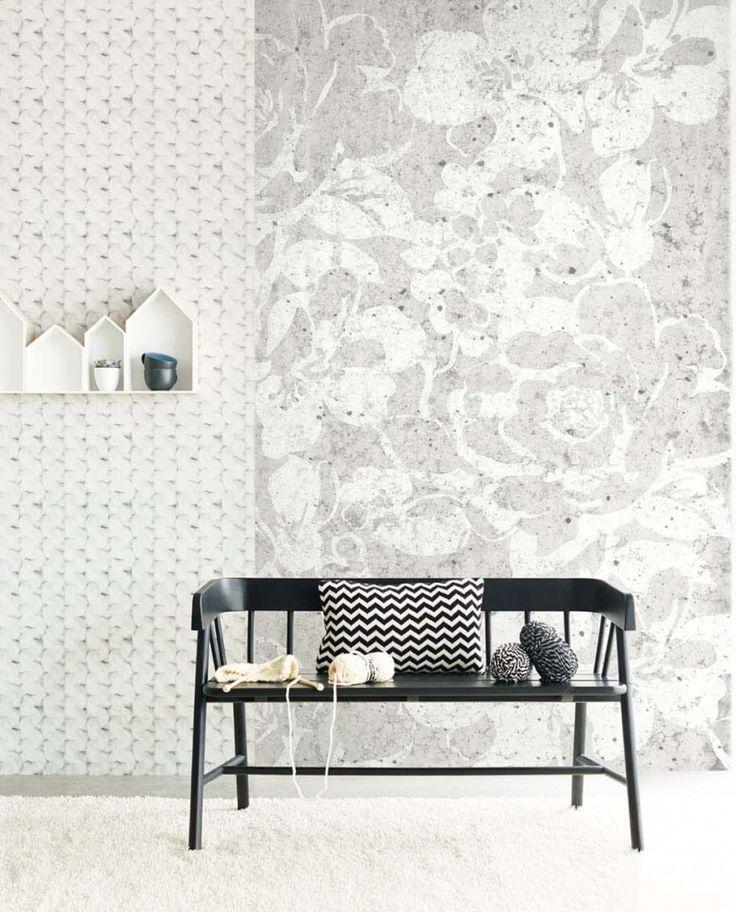 BLACK & LIGHT Elements/Structural Mural. Pattern No E356220