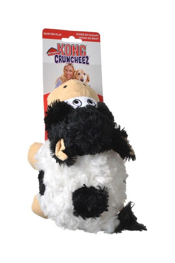 On Sale Kong Barnyard Cruncheez Rascals Cow Dog Toy Large Free