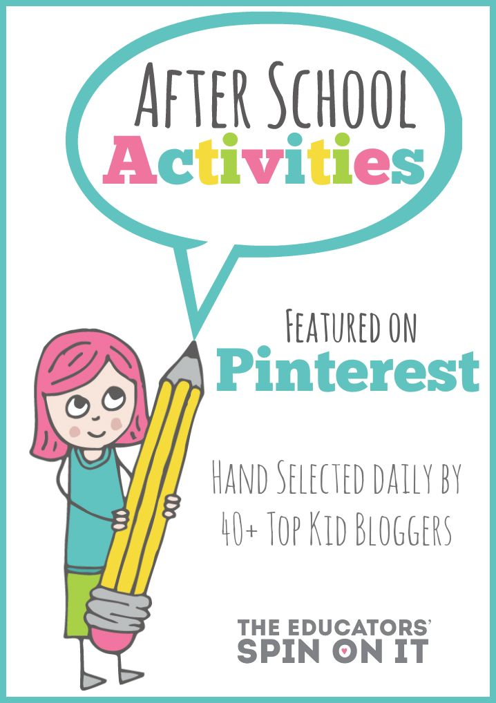 After School Activiities featured on Pinterest from 40+ Top Kid Bloggers for you!  Are you following the After School Activities Board? Share with your friends!