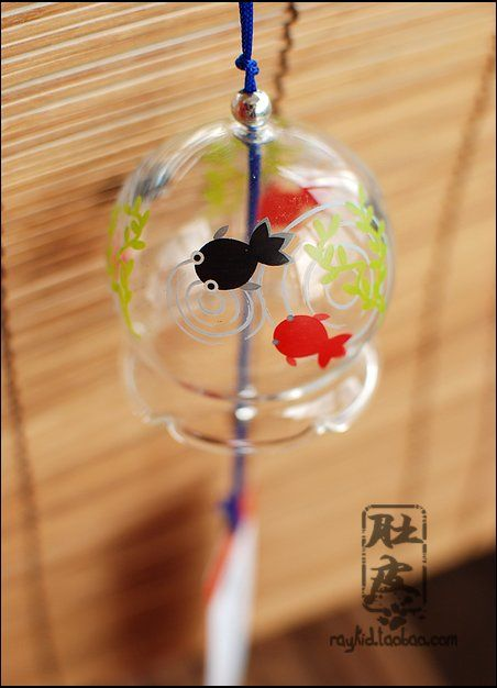 Aliexpress.com : Buy Wind chimes flower glass wind chimes flower lipstick fish japanese style windbags from Reliable flower glass suppliers on TGLOE. $7.07