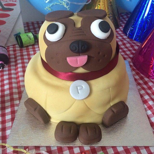 How adorable #PabloThePug celebration cake from @asda