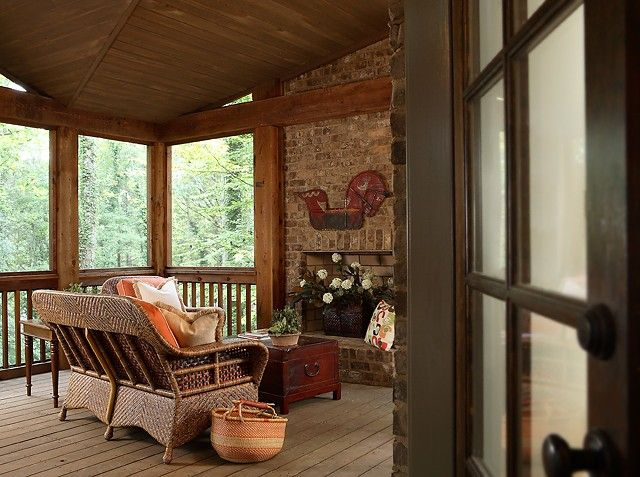 Enclosed Porch Designs For Stunning Home Space Enclosed