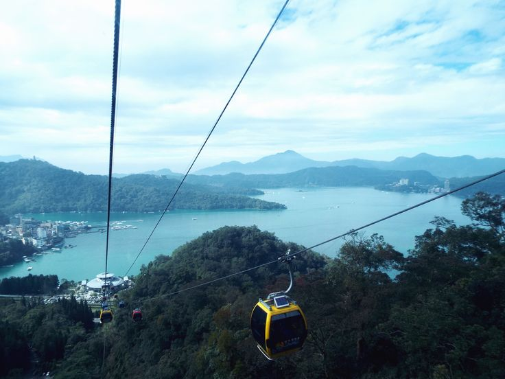 Cable Cart over Sun Moon Lake #Taiwan #SoutheastAsia #Travel #TravelBlogger