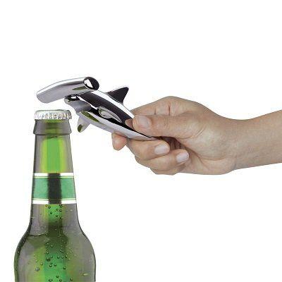Deze combinatie flessenopener en kurkentrekker Hammered Head is een must voor de komende feestdagen. Een grappig ontwerp van #Umbra.