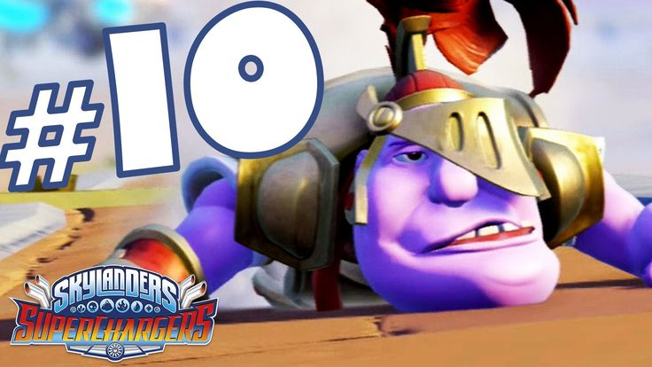 Skylanders Superchargers Gameplay ITA Walkthrough #10 - Cieli Sgombri - PS4