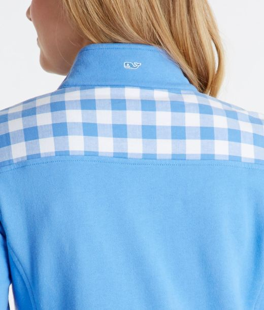 I just bought my first VV pullover and I'm in LOVE! I really want a Carolina Blue Gingham Shep Shirt!