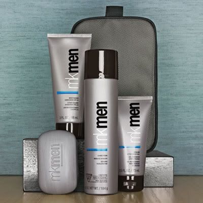 I dont know about you ladies, but i love a man that take good care of himself and smell good too!!!! The mk men line smell so good i would recommend to any guy...