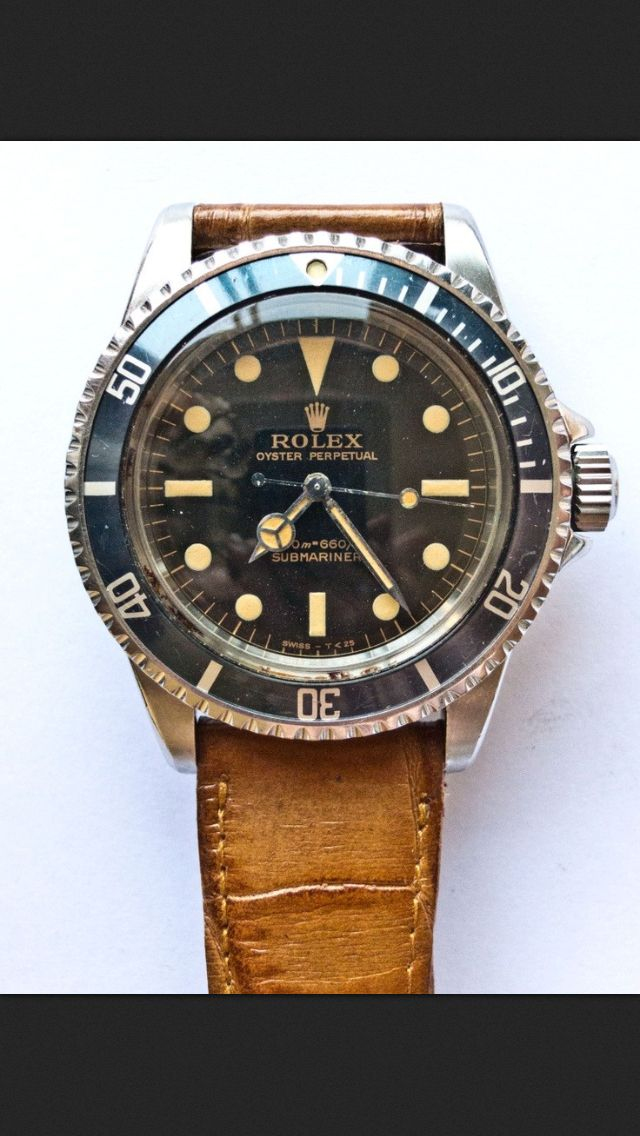 Vintage Rolex Submariner. Beautiful!