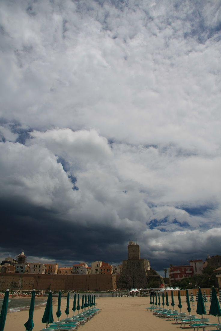 Un cielo plumbeo #spiaggiapanfilo