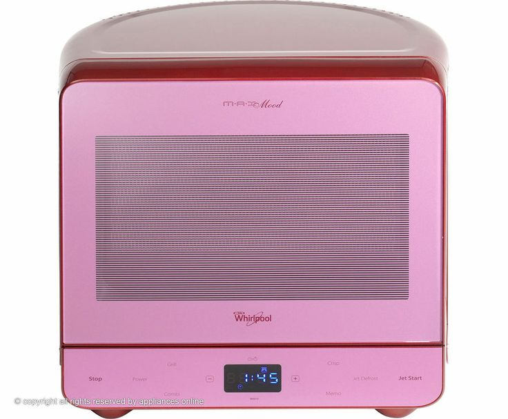 Whirlpool Max38smg Free Standing 13l 700w Microwave Vibrant Red New