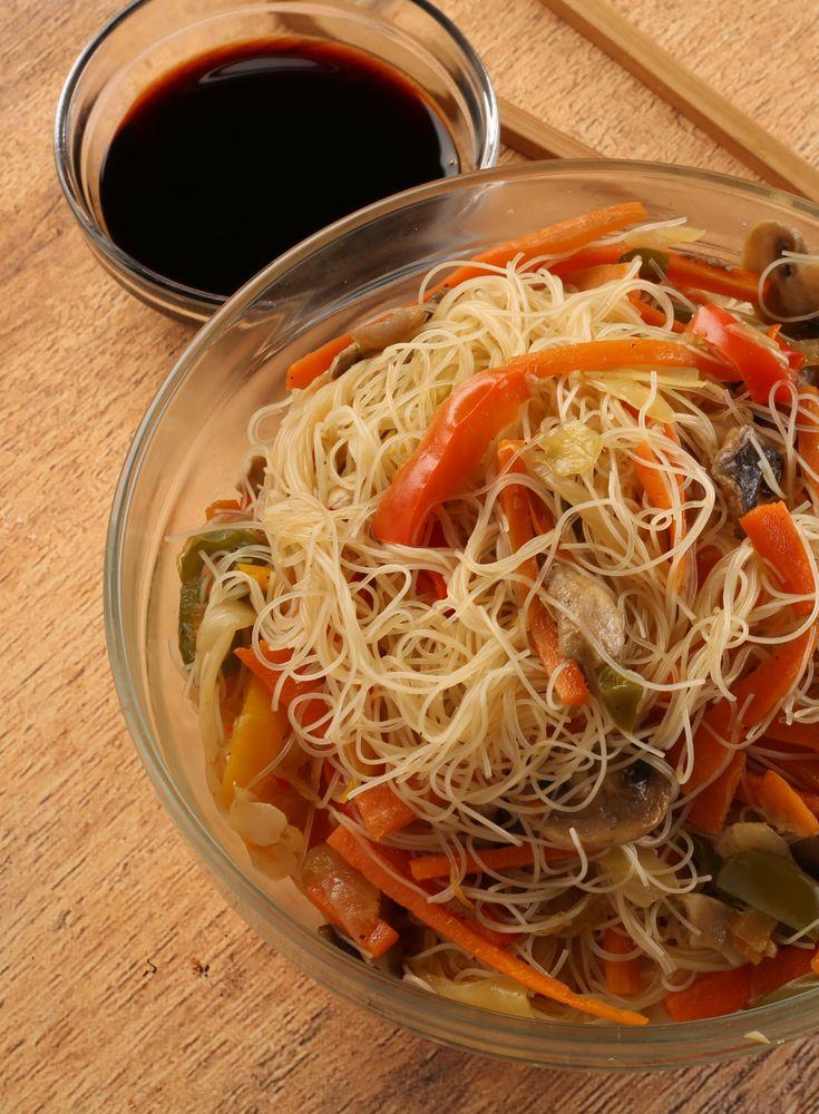 Vegetarian Noodles نودلز بالخضار Vegetarian Noodles Vegetarian Stuffed Peppers