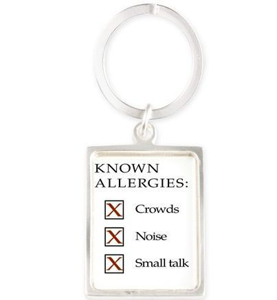 Introverts allergie issues