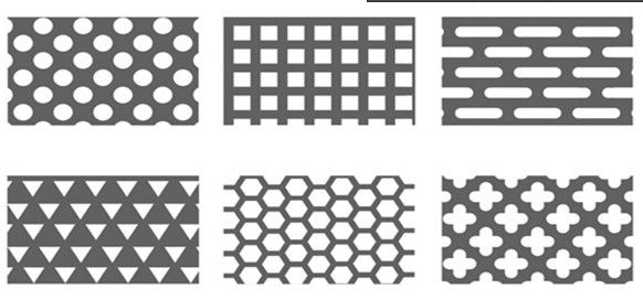 Perforated metal screen panels for windowdoor decoration. $5~$36