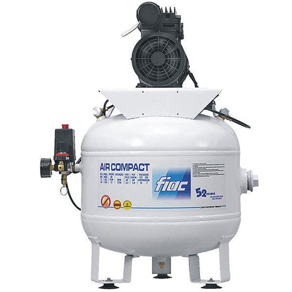 Compressor Odontologico Silencioso Fiac 40 litros 6 pés | Isento de Óleo - 110v